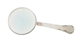 Metal and Acrylic Magnifying Glass