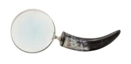 Horn Handled Magnifying Glass