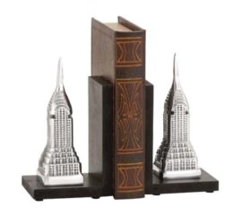 Aluminum Skyscraper Bookends