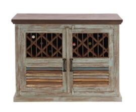 Rustic Wooden Cabinet for Wine