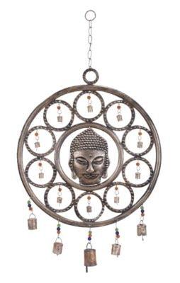 Round Metal Buddha Chime