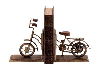 Metal Bicycle Book Ends