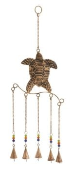 Sea Turtle Chime with Five Bells