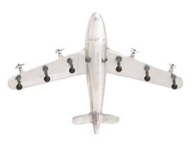Wall Hanging Airplane with Hooks