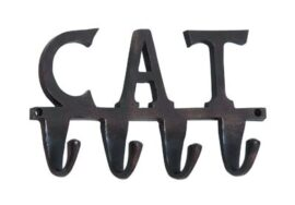 Aluminum Cat Wall Hook