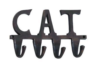 Aluminum Cat Wall Hook