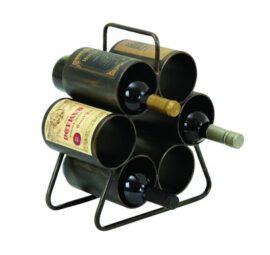Six Bottle Wine Rack