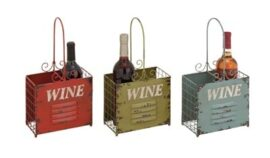 Assorted Wine Locker-Style Basket