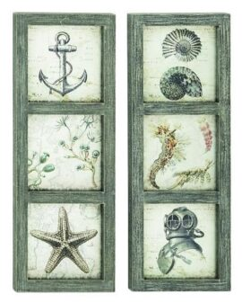 Assorted Nautical Coastal Wall Decor