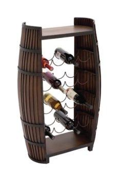 Wine Keg Wine Rack