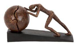 Sculpture Symbolizing Struggle