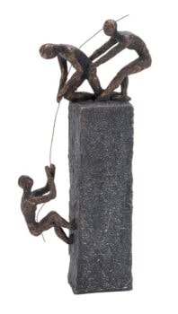 Sculpture Symbolizing Teamwork