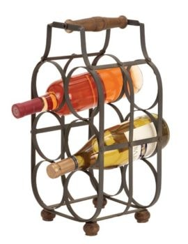 Wine Rack With Handle