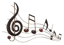 Musical Notes Wall Decor