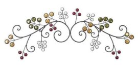 Decorative Metal Wall Branch