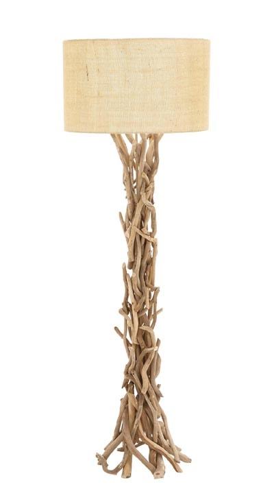 Driftwood Floor Lamp Globe Imports