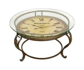 Table with Clock