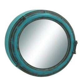 Large Metal Porthole Mirror