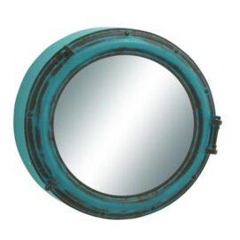 Large Metal Porthole Mirror