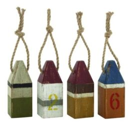 Assorted Wood Buoy