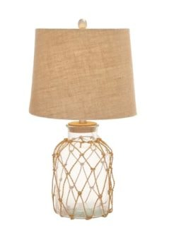 Rope Bottle Table Lamp