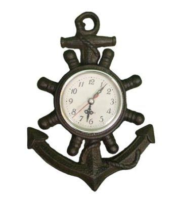 Antique Nautical Anchor Clock