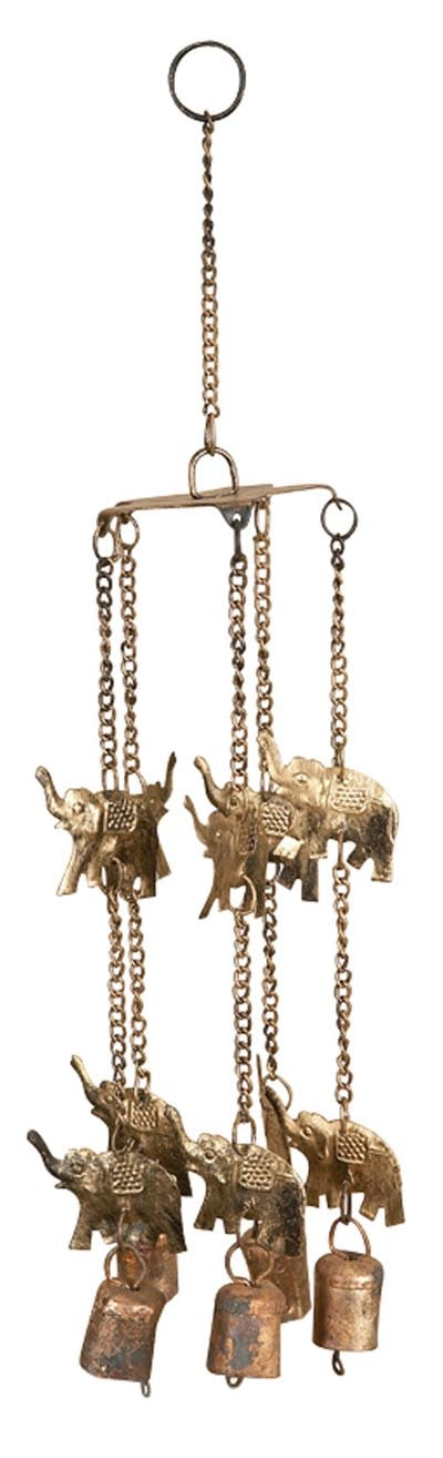 Elephants Wind Chime