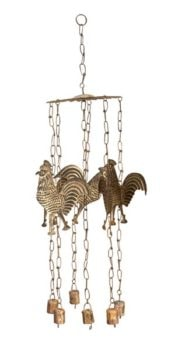 Rustic Rooster Wind Chime