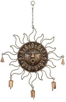 Sun Face Chime