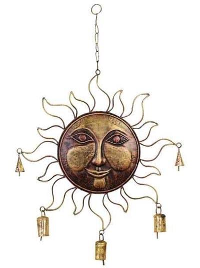 Metal Sun WIND CHIME