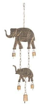 Metal Elephant Chime