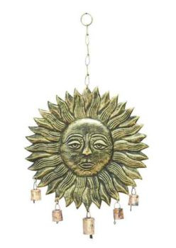 Sun Face Wind Chime