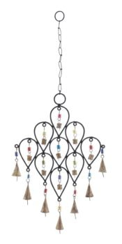 Wind Chime with Beads and Bells