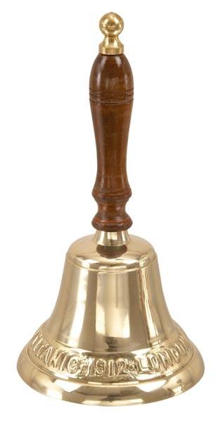 Brass Titanic Handbell