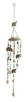 Elephants and Beads Chime