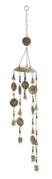 Suns and Beads Wind Chime