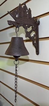 Antique Finish Ship Wall Bell