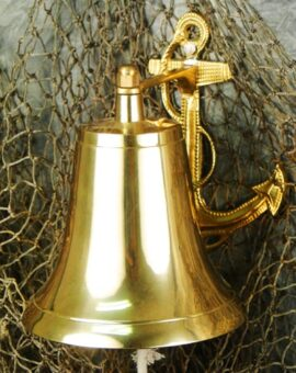 Brass Anchor Bell