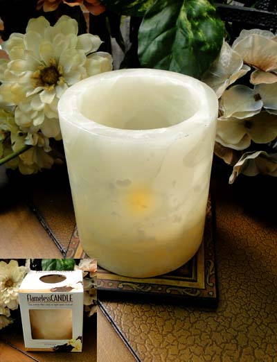 Battery Operated Flameless Vanilla Candle