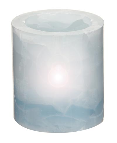 Battery Operated Flameless Lavender Candle
