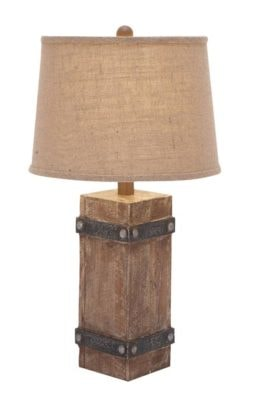 Rustic Style Table Lamp