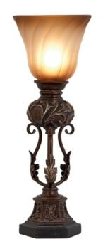 Victorian Style Torchiere Table Lamp