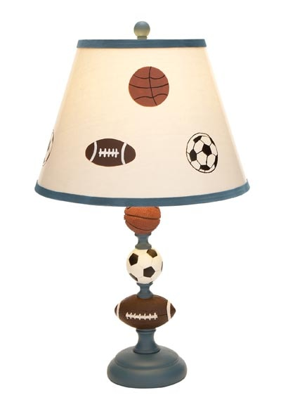 Sports Themed Lamp Globe Imports