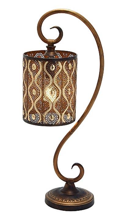 PENDANT Style Metal Table Lamp