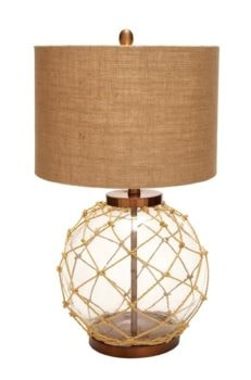 Nautical Float with Rope Lamp