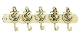 Brass Nautical Key Hook