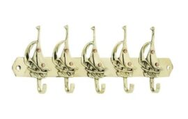 Brass Sailboat Hooks
