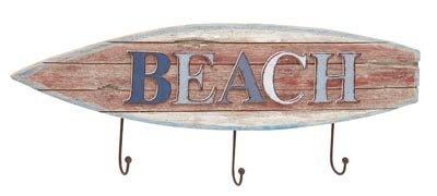 Beach Surfboard Coat Hooks