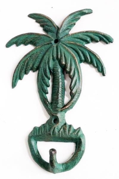 Palm Tree Wall Hook Globe Imports