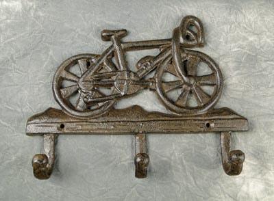 Bicycle Coat Hooks Globe Imports